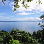 beautiful vieuw on Taveuni