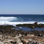 Atlantic Ocean off Bass Rocks