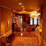 The Wedgewood Hotel & Spa is the epitome of elegance (even with its holiday decor).