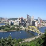 Beautiful downtown Pittsburgh