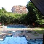 Lion rock from Sigiriya Hotel