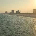 South of pier