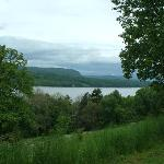 Veiw of The Hudson River from the Mansion
