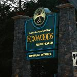 Entrance to Foxwoods