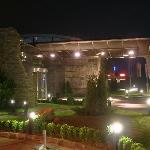 the hotel by night