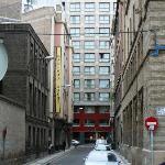 Zenit Don Yo at end of street