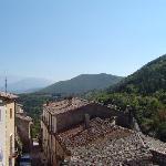 view near Carapelle Calvisio