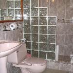 Modern Bathroom, but don't flush the paper