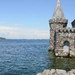 Views on the Boldt Castle Island