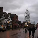 Stratford on a rainy day