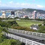 View of Wellington from cable car