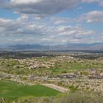 view from villa od Sunridge Canyon Golf Course