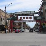 Entrance to Chinatown ...