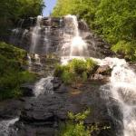 View of GA's highest falls from trail