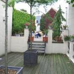 Rooftop Deck area
