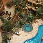 Indoor Swimming Pool and Atrium