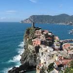 Vernazza, and yes the water really is that blue