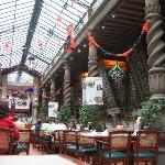 Sanborn's inhouse restaurant