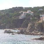 View of the Sant Roc from the north end of Calella.