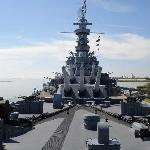 Deck of the USS Alabama