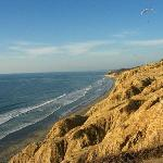 Blacks beach at Torrey Pines, California