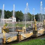The Grand Cascade in Peterhof