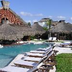 Papagayos Swim-Up Bar and our Casita
