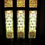 The big stained glass window