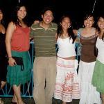 the 8 of us. I'm on the far right, green skirt. Bananakeet Restaurant, Tortola