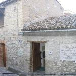 House where Padre Pio was born in Pietrelcina province of Benevento