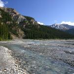 Bow Glacier Falls Trail Photo