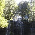 waterfall at Mt Field National Park