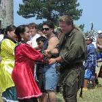 Native dancing at French and Indian War Event