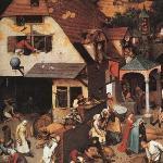 Proverbes Bruegel (partie)