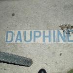 Dauphine street sign