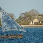 Dau mit Chole Island im Hintergrund