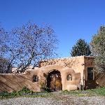 Adobe structures were beautiful
