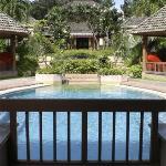 Chi Spa's pool & reception building