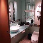 Business level bathroom
