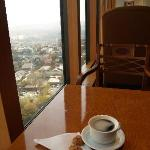 Business Level Club room view with coffee
