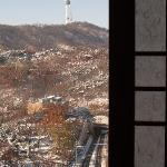 View of Namsan from Shilla hotel room