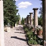 The Roman columns