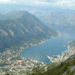 Kotor Bay from Mountain top