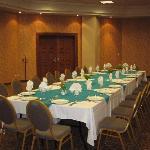 Cena en salón Zafra