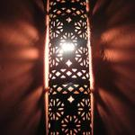 Abstract shot taken inside the Riad
