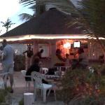 Poolside Bar at Night