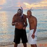 Me and dad after he snorkels