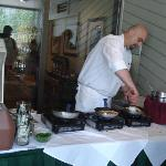 Chef at Omelet Bar