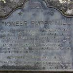 1st papermill on the west coast