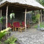 The outdoor sala